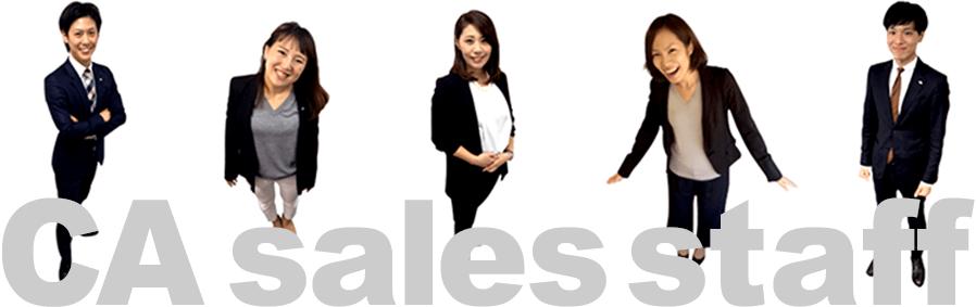 CA sales staff